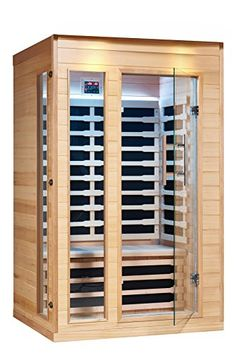 Saunas - Royal Saunas 2 Persons Far Infrared Hemlock Saunas w5 Low EMF Nano Carbon Mica Heaters *** More info could be found at the image url. (This is an Amazon affiliate link)