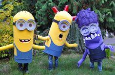 minion costumes.. saweeet...