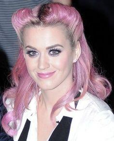 Katy Perry Retro Updo