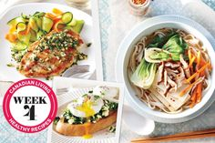 Your meal plan: 31 healthy dinner recipes, week four