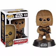 chewbacca star wars o despertar da força funko pop!