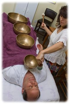 ∆ Sound...singing bowl therapy