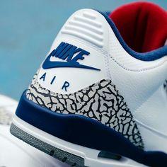 Air Jordan, 3, Retro, OG ,' True ,Blue, , NIKE,shoes ,sneaker ,sneakers ,kicks ,sole ,nike, fashion, style ,streetwear, sporty, sportswear, menswear, men fashion ,men shoes