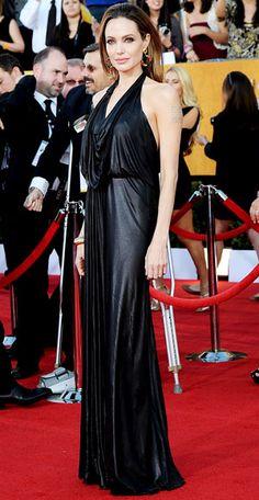 Angelina Jolie in Jenny Packham