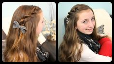 The Knotted Pullback by Cute Girls Hairstyles
