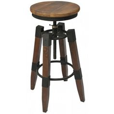 <strong>!nspire</strong> Industrial Adjustable Height Bar Stool