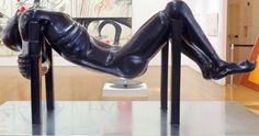 https://flic.kr/p/KvCUkY | Figura acostada | Escultura de Juan Carlos Distéfano - Museu MALBA - Buenos Aires.