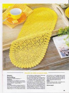 Crochet Creations: placemats