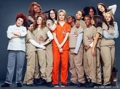 Orange is the New Black -  Piper Kerman: I'm not your wife.  Suzanne 'Crazy Eyes' Warren: I threw my pie for you.