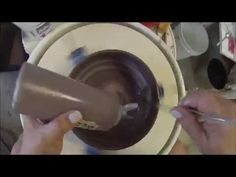 Mary Potter's Brush On Glazing Technique. 1x2x6