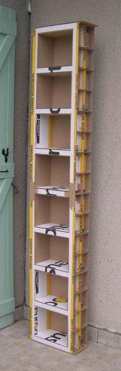 Increíbles ideas para decorar nuestros hogares hechas completamente de cartón.