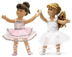"""Ballet Ballerina Outfits Fit American Girl Dolls 18"""" Inch Dance Doll Clothes/clothing Bundle $38.99"""
