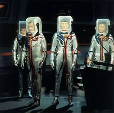 Star Trek spacesuits...so retro they might really be futuristic!
