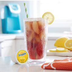 Happy #NationalIcedTeaDay! We're brewing a refreshing Snapple Lemon Iced Tea to celebrate!