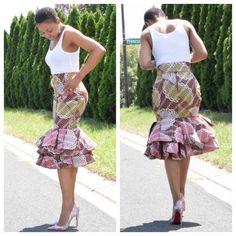 Prepare to Drool Over These Ankara Styles - Wedding Digest Naija African American Fashion, African Fashion Designers, Latest African Fashion Dresses, African Dresses For Women, African Print Fashion, Africa Fashion, African Attire, African Wear, Ankara Fashion