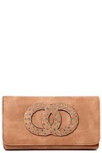 Embellished Purse in Brown – Mahoganyfair