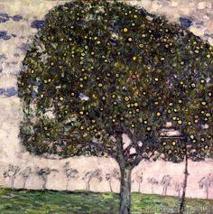 Gustav Klimt - The Apple Tree, 1916