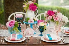 colorful-country-wedding-table-place-setting