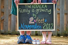 """xxx Family is growing by 2 feet"" Pregnancy Announcement!!"