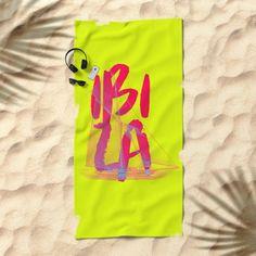Ibiza (By Salomon) #towel #beach #apparel #fashion #urban #style #streetstyle #tropical #holydays #ibiza #eivissa #beach #espana #spain #society6 @society6