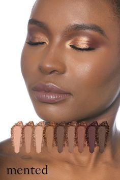 Our Everyday Eyeshadow palette was designed with your melanin in mind. Each shade packs enough pigment to envelop your lids in the gorgeous nude and neutral shades you love. The sophisticated 9-shade collection has exactly the right colors to take you from your morning meeting to post-work drinks and everything in between.