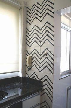 decoração com fita isolante quarto