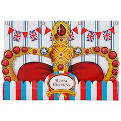 Jubilee - Party paper crowns