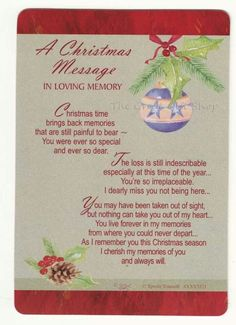 Christmas is not the same without you <3