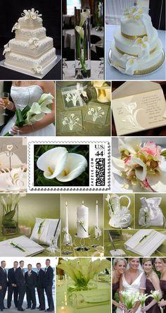 ✥ calla-lily-wedding-inspiration-board