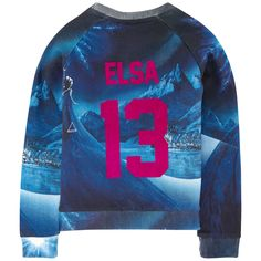 Sweat Elsa en molleton - Little Eleven Paris
