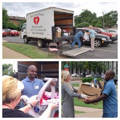 Back in 2012, AF Colleagues lined up to donate items to Heart and Hand, a non-profit thrift store dedicated to serving the homeless women and children of Oklahoma City. We're constantly looking for ways to give back to our community! #TBT #community
