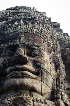 Buddha at Angkor Wat, Canbodia