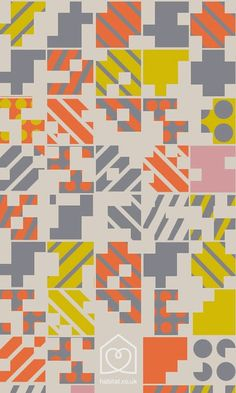 print  pattern: HABITAT AW 2014