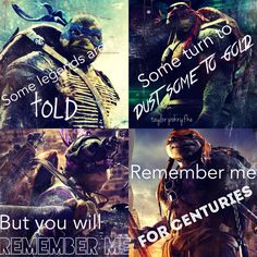 "Song: ""Centuries"" by Fall Out Boy Film: ""Teenage Mutant Ninja Turtles"""