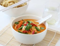 Red Curry Kylling Asian Recipes, Ethnic Recipes, New Menu, Looks Yummy, Dere, Frisk, Great Recipes, Meal Planning, Food Photography