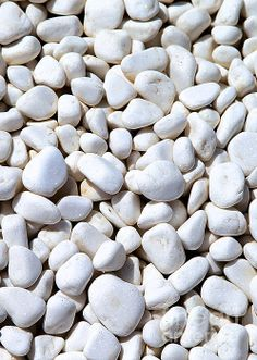 """Still Life Photography of White Pebbles  """"Rough diamonds may sometimes be mistaken for """"worthless pebbles"""". Thomas Browne"""