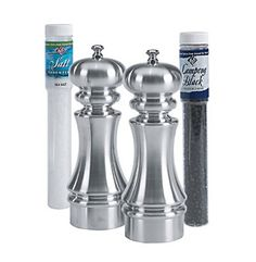 Product: William Bounds Knight Dual Salt & Pepper Mill Set