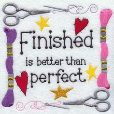 Sewing motto