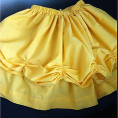 """...Belle skirt (original pin in my """"Disney Clothes for the Kids"""" folder"""