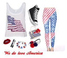 """""""I'm an American"""" by meflackcutie on Polyvore"""
