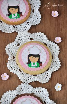 Mis chucherias: Galletas decoradas con papel de azúcar personalizado ( decorated cookies)