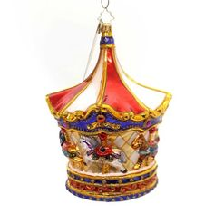 Christopher-Radko-Menagerie-Go-Round-Limited-Edition-Christmas-Ornament
