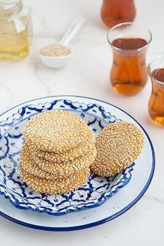 Biscotti tahina e miele /Honey and tahini cookies