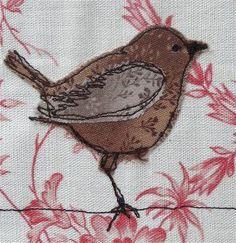 little birdie applique