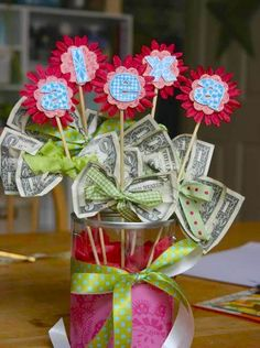 Time to step up your game in the gift-giving arena? Spice up that present with a little creativity and a few dollar bills!