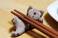 adorable chopstick rest (hashioki)
