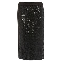 Damned Delux Women's Sequin Pencil Skirt (2.205 HUF) ❤ liked on Polyvore