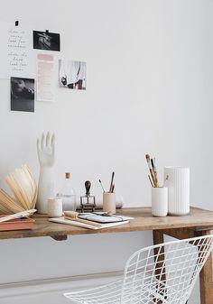 UN BELLO ESPACIO DE TRABAJO | Harmony and design - A Lifestyle Blog