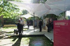 grimshaw architects elements tensilation pavilion clerkenwell design week designboom