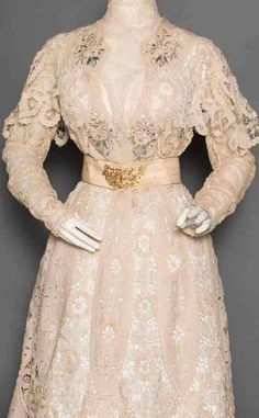 afternoon dress c1905